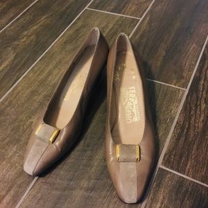 Ferragamo Salvatore Florence made in Italy heels